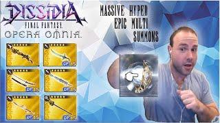 50,000 GEM SUMMONS?!?! TONS OF 5 STAR WEAPON SUMMONS! Final Fantasy: Opera Omnia