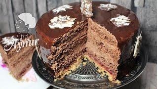 Parlak jöleli Çikolatalı Yaş  Pasta Yapılışı# Gerçek pastane usulü Yaş Pasta# Yılbaşı pastası