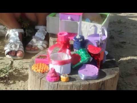 Cмотреть видео онлайн мои самодельные вещи для кукол, 2 ч.