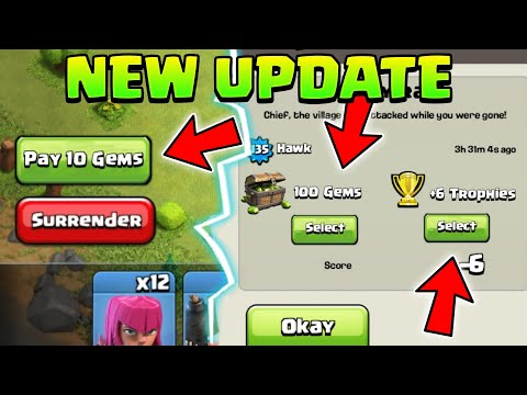 NEW UPDATE 2018 Clash Of Clans Concept | clash Of Clans Trophies Concept |