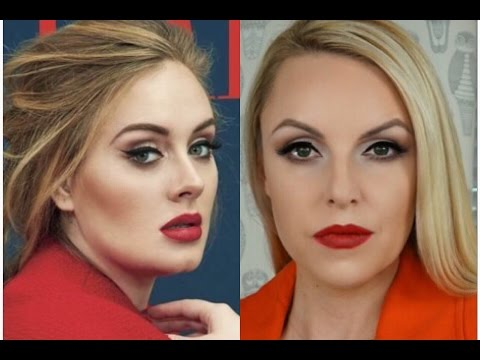Adele signature makeup look how-to- Elle Leary Artistry