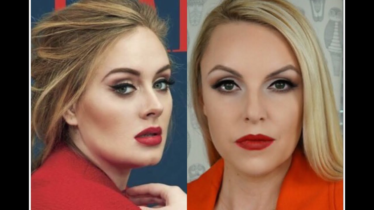 Adele signature makeup look how to elle leary artistry youtube baditri Image collections
