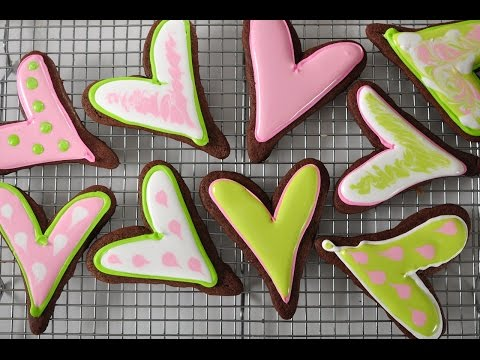 Chocolate Sugar Cookies Recipe Demonstration - Joyofbaking.com