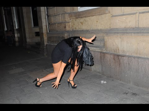 Chloe Ferry Falls Over Coming Out Of House Of Smith After Geordie Shores Press Night