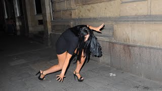 Chloe Ferry Falls Over Coming Out Of House Of Smith After Geordie Shore's Press Night