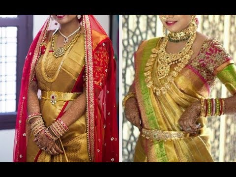 Gold Silk Kanchipuram Bridal Pattu Sarees Latest Collection - Part 2.