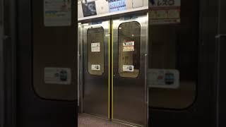 横浜高速鉄道 Y500系 ドア開閉(みなとみらい線 馬車道)