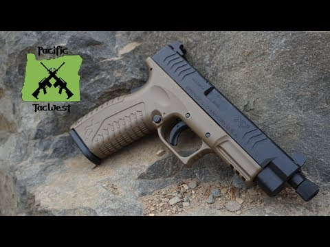 Springfield Armory XDM Threaded Barrel FDE - XDM Threaded Barrel Review and Field Strip