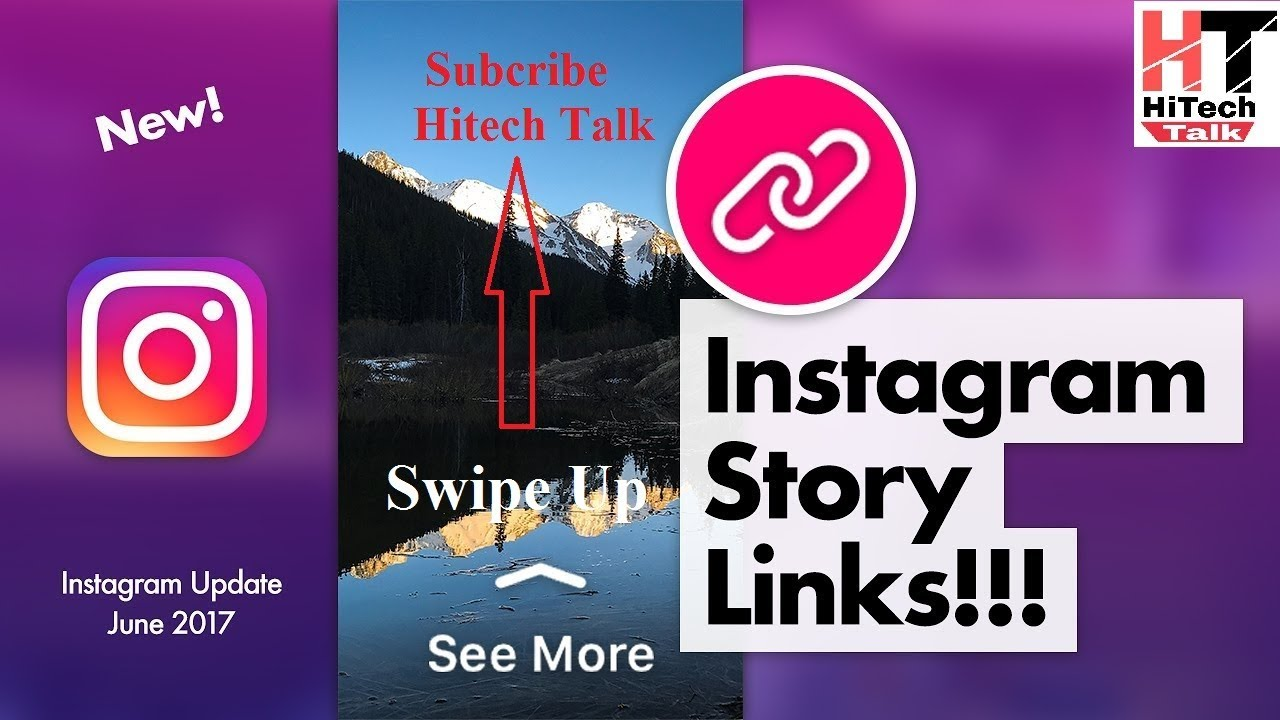How to add youtube link in instagram story swipe up