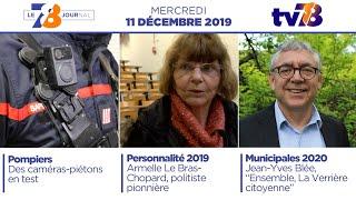 7/8 Le Journal. Édition du mercredi 11 décembre 2019