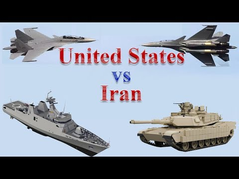 United States vs Iran Military Power 2017