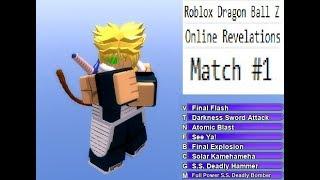 Roblox Dragon Ball Z Online Revelations Match #1