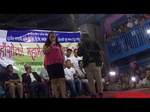 Lahure baa Comedy 2073 in khandbari (KYC)