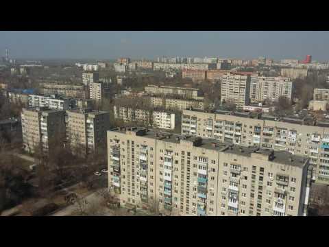Ростов-на-Дону. Западный с крыши 20-этажного дома
