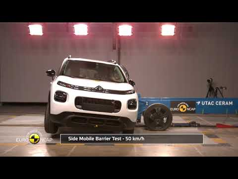 Euro NCAP Crash Test of Citroën C3 Aircross