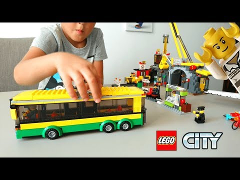 LEGO City Bus - We'll deliver passengers! (Bus Lego 60154)