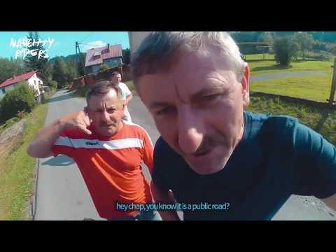 ANGRY People Vs Bikers L Janusze Vs Supermoto L Polska Cebula L Linka śmierci W Lesie