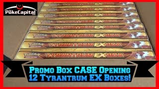 Pokemon Cards - Tyrantrum EX Box CASE Opening (12 Promo Boxes)