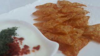Glutensiz Cips Tarifi | Gluten-Free Crisps Recipe