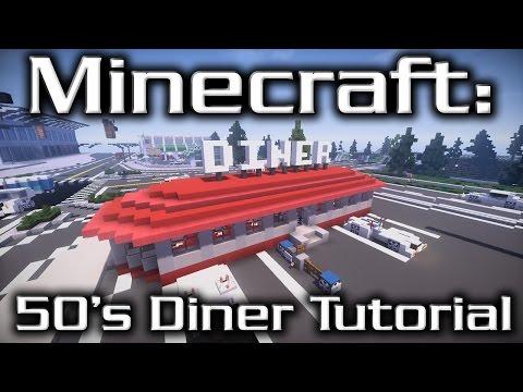 Minecraft: 50's Diner Tutorial