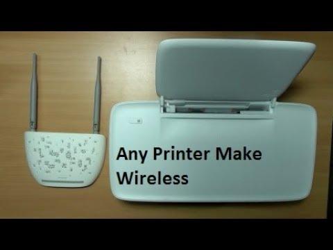how to make printer wirelress