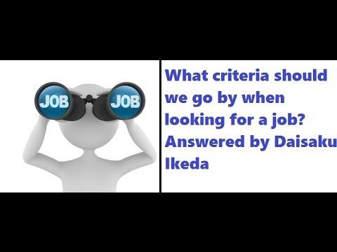 How Buddhism define job?