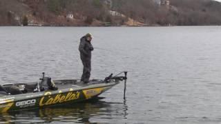 Mike McClelland fishing in the Ozark Plateau