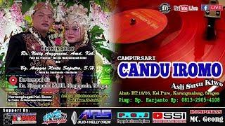 Live Streaming Campursari CANDU IROMO // ARS AUDIO JILID 4 // HVS SRAGEN CREW 01 MALAM SINGOPADU