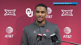 OU Football: Jalen Hurts press conference