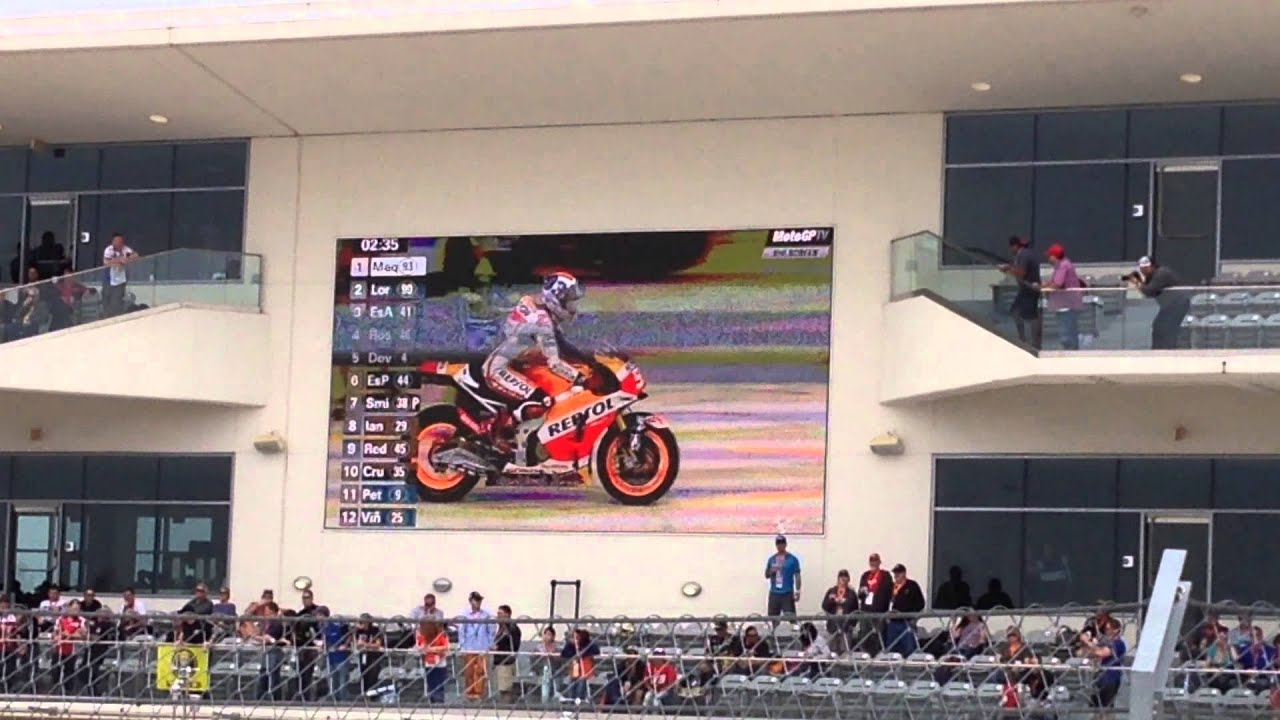 Marc Marquez Ricky Bobby Sprint at COTA MotoGP qualifying - YouTube