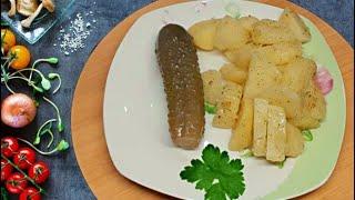 Рецепт для ленивых Картошка в микроволновке