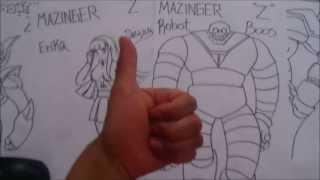 MAZINGER Z SUPER DRAW ROBOTBOSS 1#BOCETO X db
