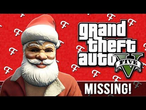 GTA 5 Skits: Christmas Special - Wheres Santa? (Fran and Ted - Comedy Gaming)