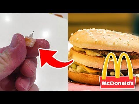 Top 10 Disgusting Things Found In McDonald's Foods