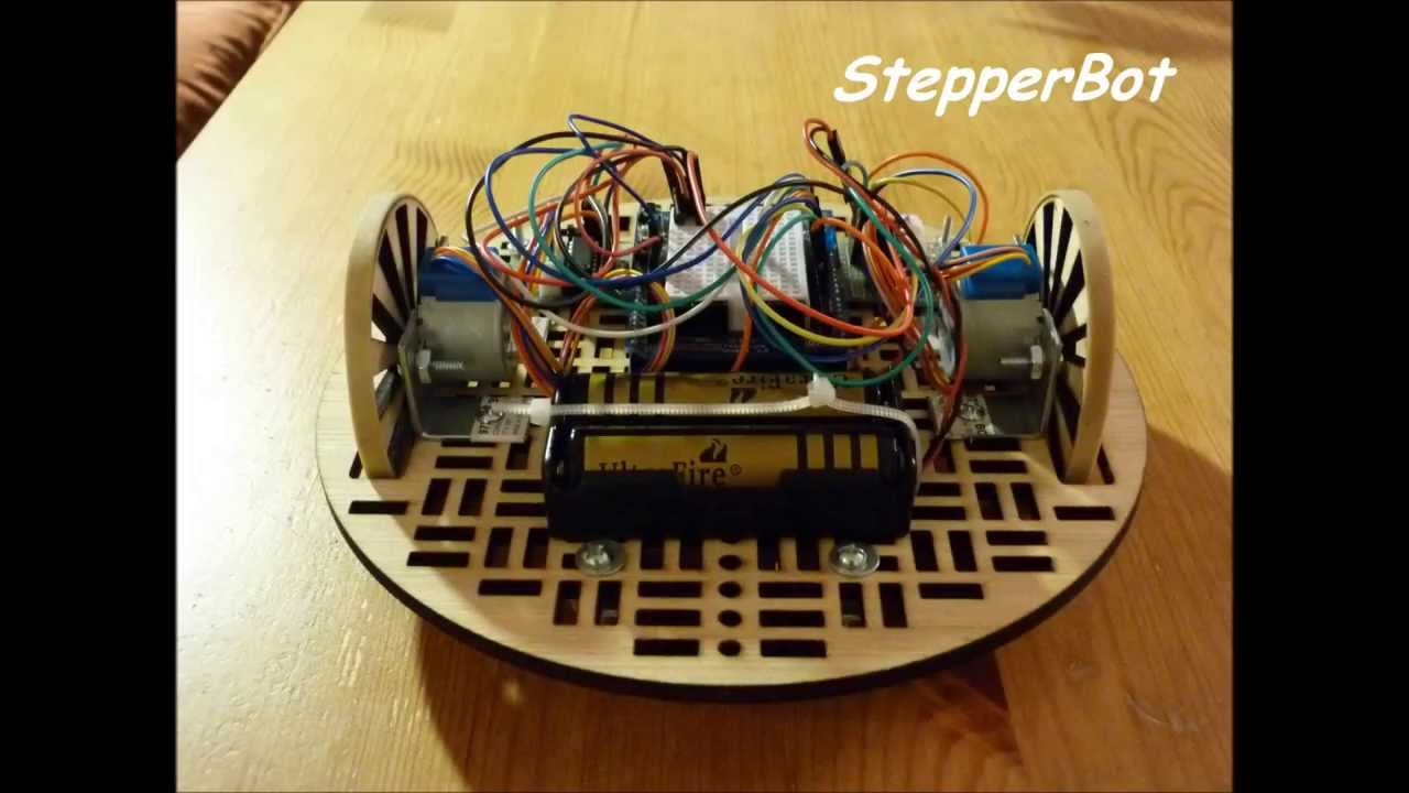 28BYJ-48 Stepper Motor with ULN2003 driver and Arduino Uno |