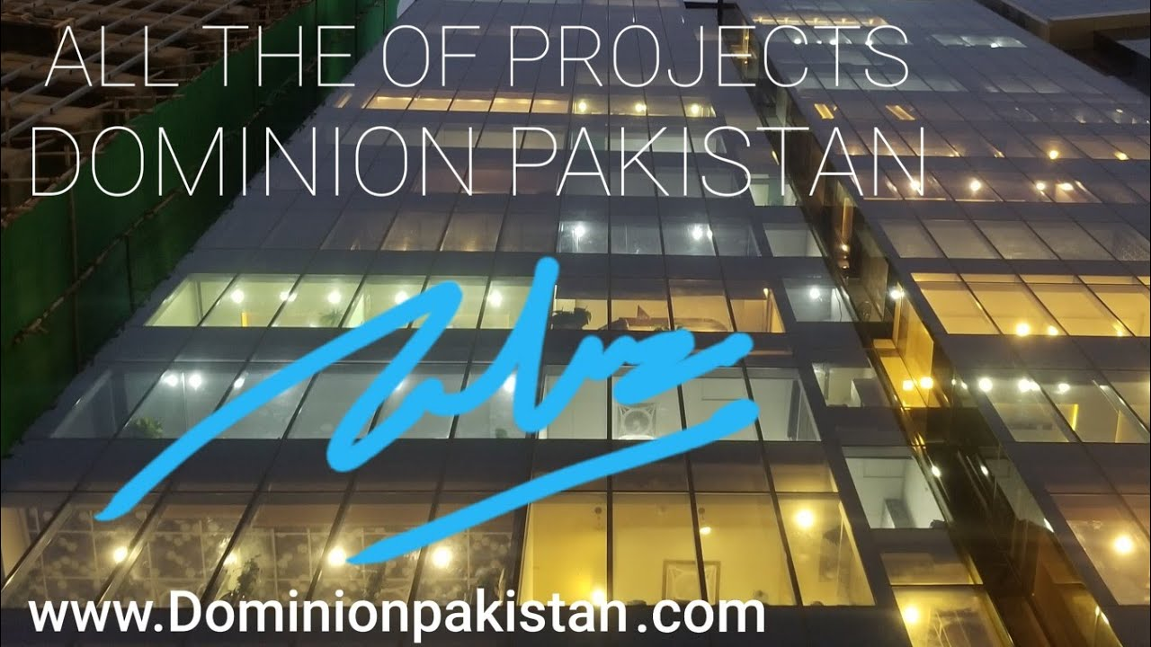 Lets Discuss All Dominion Projects By IQBAL Builders Bahria Town Karachi   Ameer Admi Presentation