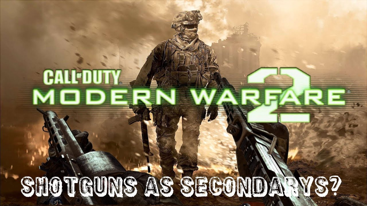 Modern warfare 2 - Shotguns as secondary weapons