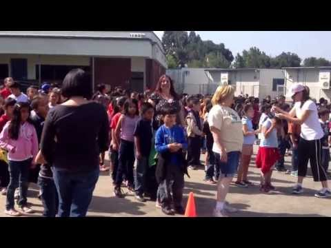 Foster Elementary School Bootcamp with Brian Peeler