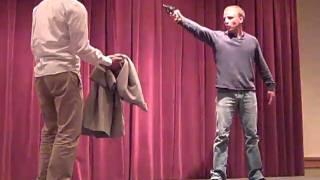 J. Steven White at Magna cum Murder