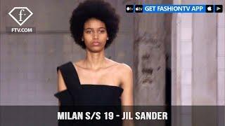 Milan Fashion Week Spring/Summer 2019 - Jil Sander | FashionTV | FTV