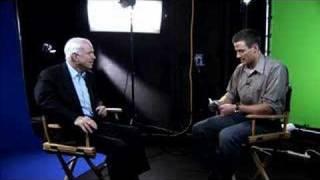 Senator John McCain: The YouTube Interview thumbnail