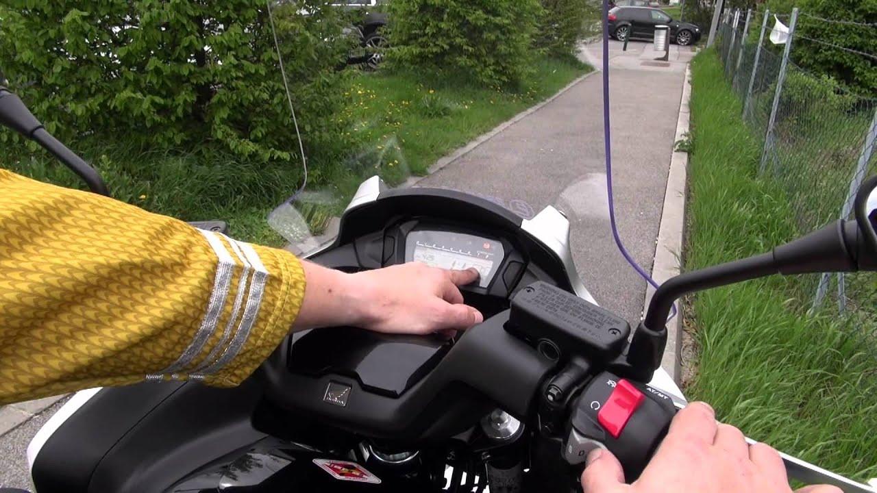 New Honda Integra 700 Roller Bedienungsanleitung How To Youtube