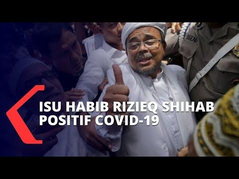 Dikabarkan Positif Corona, Fpi: Habib Rizieq Shihab Sedang Istirahat