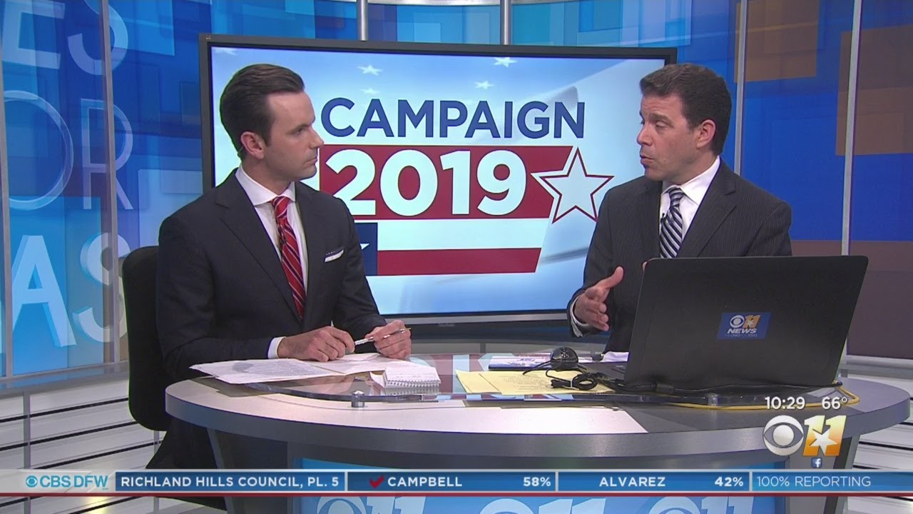 CBS 11 Political Reporter Jack Fink Discusses The Most Compelling Local  Races On Election Night
