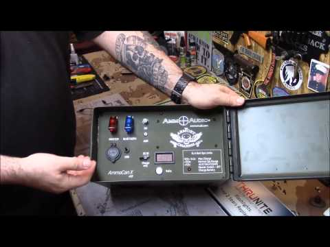 This  .50 Cal Ammo Can defines BADASSERY!