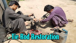 Restoration of Old Trขck Tie Rod Ends | How to Rebuild Tie Rod Ends