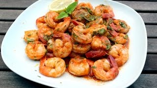 Easy & Authentic Mexican Recipe for Shrimp - 2:49 Video