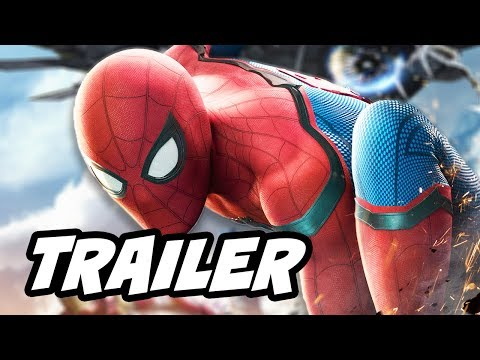 Thumbnail: Spider Man Homecoming Official Trailer - Iron Man Iron Spider Tech