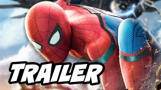 Spider Man Homecoming Official Trailer - Iron Man Iron Spider Tech