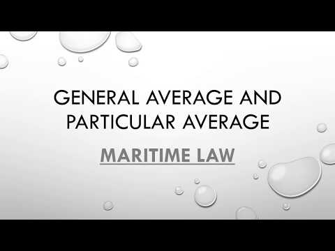 What Is The Difference Between General Average And Particular Average?